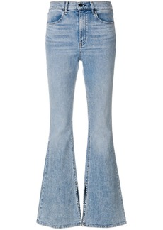 Rag & Bone light-wash flared jeans