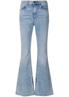 Rag & Bone light-wash flared jeans