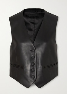 rag & bone Lina Leather Vest