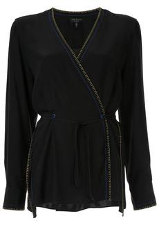 Rag & Bone Lina wrap blouse