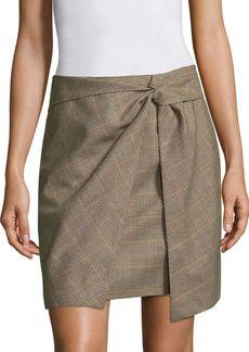 Rag & Bone Logan Plaid Skirt