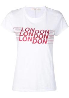 Rag & Bone London print T-shirt