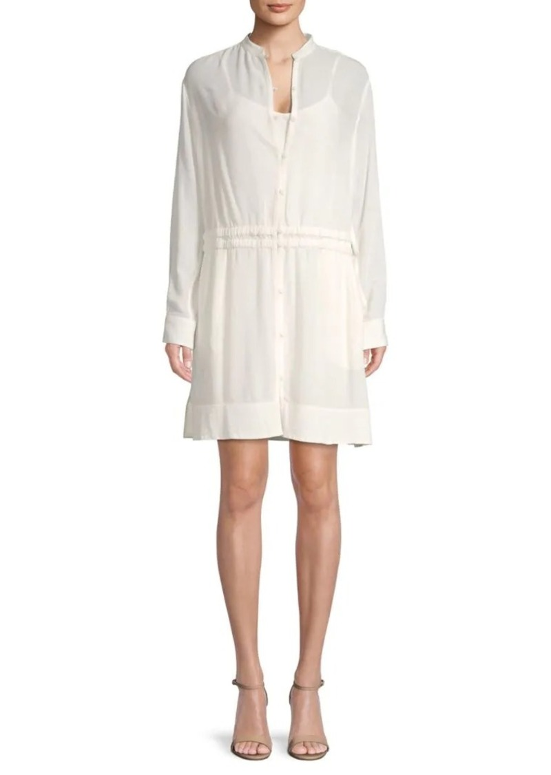 rag & bone Long-Sleeve Mini Dress