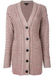 Rag & Bone long textured knit cardigan
