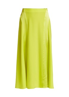 rag & bone Lucille Silk Midi Skirt