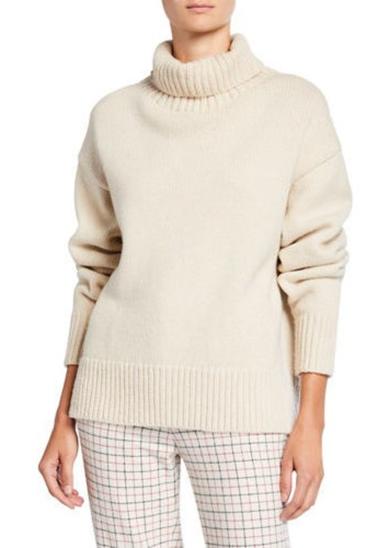 rag & bone Lunet Lambs Wool Turtleneck Sweater