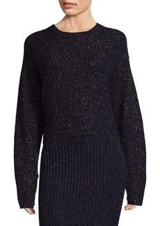 Rag & Bone Lurex Crewneck Sweater