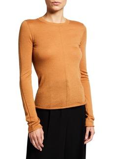 rag & bone Mandee Long-Sleeve Cashmere Top