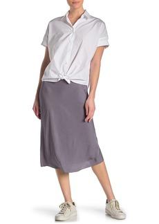 rag & bone Mandy Satin Midi Skirt