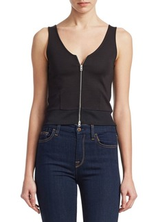 rag & bone Mara Zip Tank Top