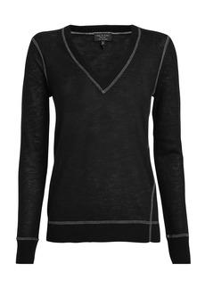 rag & bone Marina Cashmere V-Neck Sweater