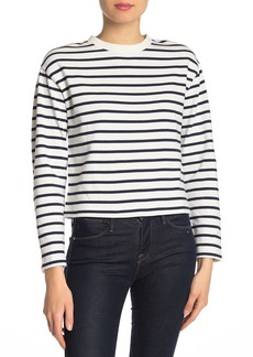 Rag & Bone Mariner Striped Crew Neck Top