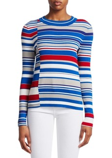 rag & bone Mason Mixed Stripes Knit Sweater