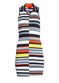 rag & bone Mason Striped Sleeveless Knit Dress