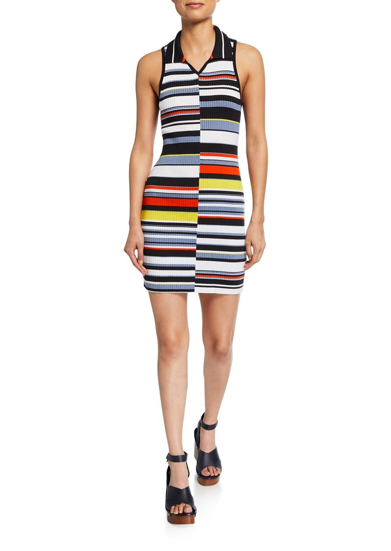 rag & bone Mason Striped Sleeveless Mini Dress