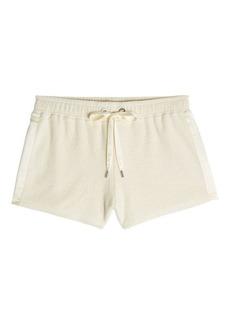 Rag & Bone Max Cotton Shorts with Silk