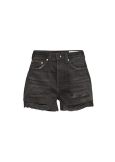 Rag & Bone Maya Distressed Denim Shorts