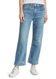 rag & bone Maya High-Rise Ankle Crop Jeans