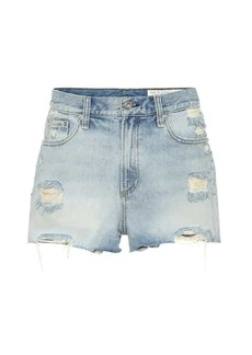 rag & bone Maya high-rise denim shorts