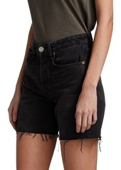 rag & bone Maya High-Rise Midi Denim Shorts