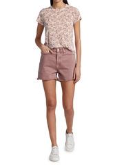 rag & bone Maya High-Rise Shorty Shorts