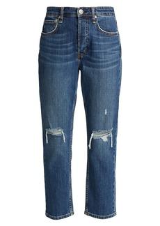 rag & bone Maya High-Rise Slim-Fit Ankle Jeans
