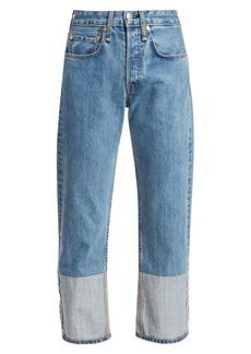 rag & bone Maya High-Rise Straight Ankle Jeans