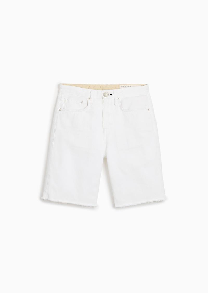 rag & bone Maya High-Rise Walking Short - Worn White