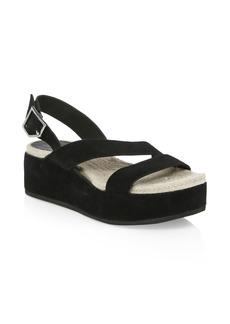 Rag & Bone Megan Suede Wedge Sandals
