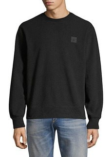 rag & bone Melton Fleece Crewneck
