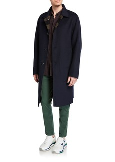 rag & bone Men's Brent Reversible Wool Coat