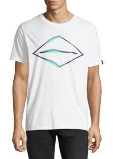 Rag & Bone Men's Diamond Glitch T-Shirt