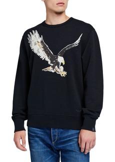 rag & bone Men's Eagle Crewneck Sweatshirt