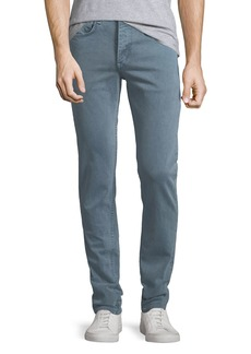 rag & bone Men's Fit 2 Slim Fit Over-Dye Twill Jeans