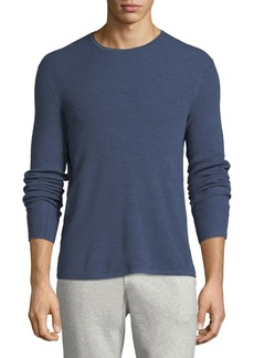 Rag & Bone Men's Gregory Waffle-Knit Merino Wool Sweater