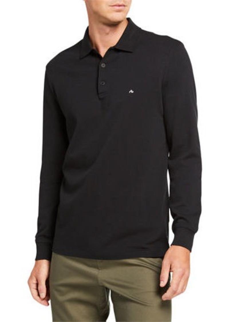 rag & bone Men's Hyper-Laundered Pique Polo Shirt