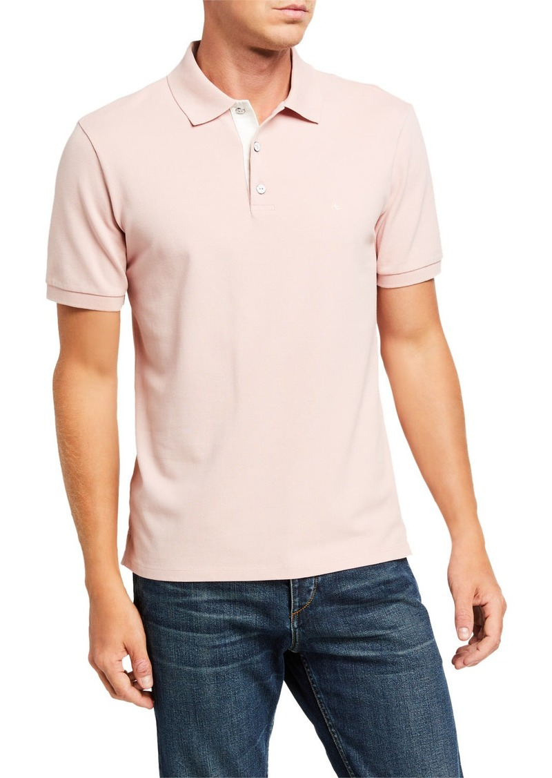 rag & bone Men's Hyper-Laundered Polo Shirt