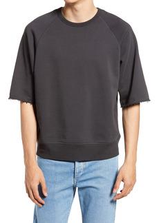 Men's Rag & Bone Men's Short Sleeve City Sweatshirt