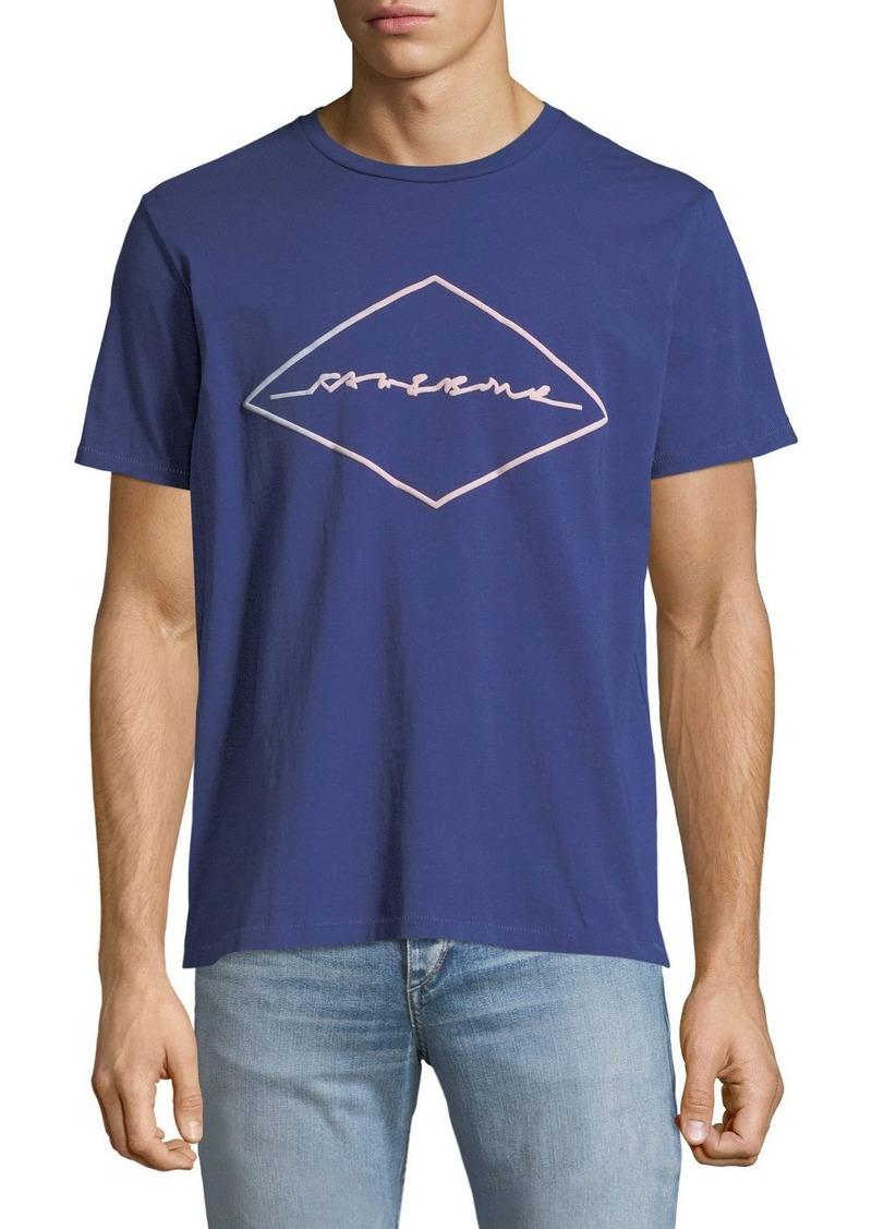 rag & bone Men's Signature Logo T-Shirt