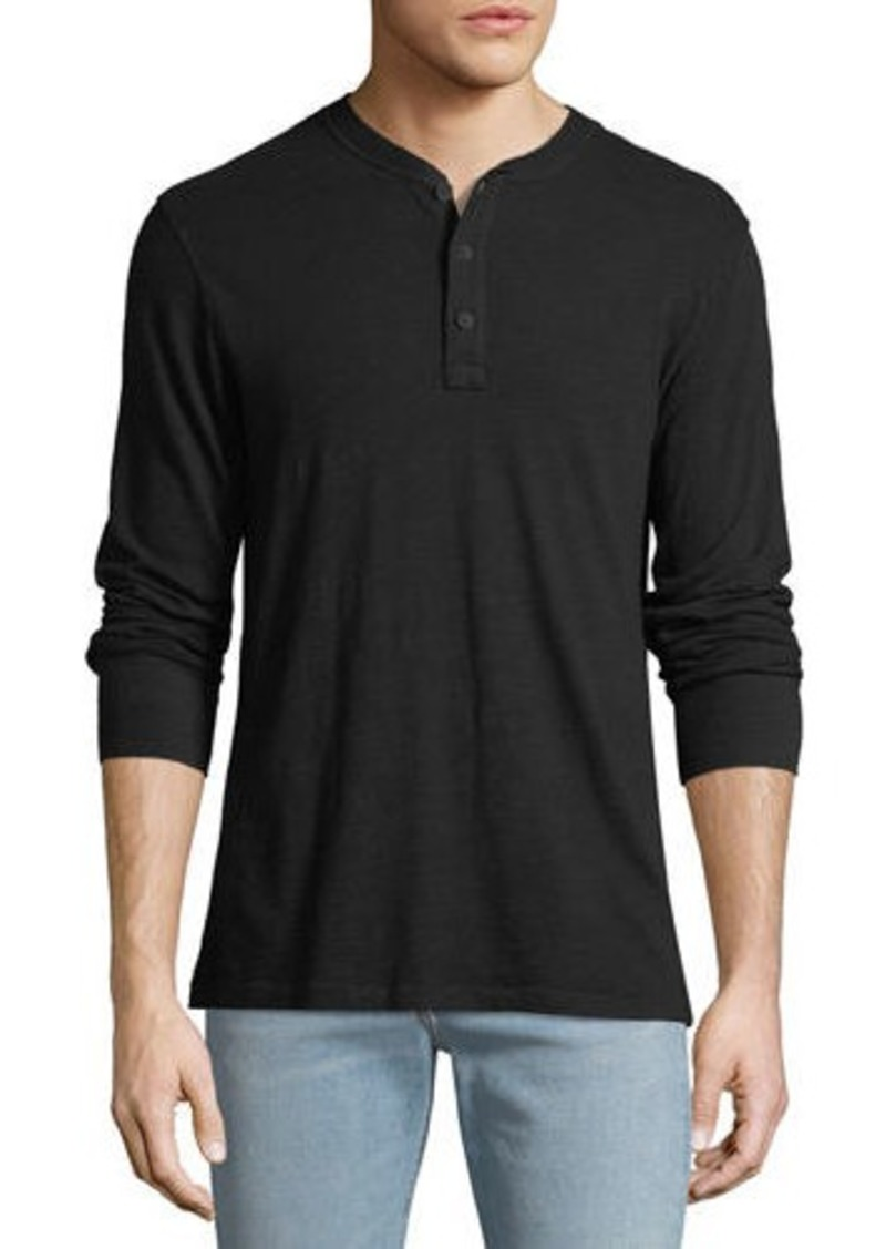 rag & bone Men's Standard Issue Henley Shirt