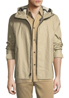 rag & bone Men's Tactic Hooded Zip-Up Jacket