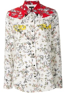 Rag & Bone micro-floral western shirt