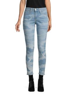 rag & bone Mid-Rise Ankle Skinny Jeans