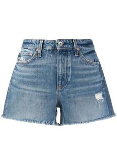 rag & bone mid-rise denim shorts