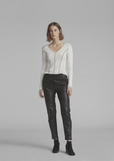 Rag & Bone MILA LEATHER PANT