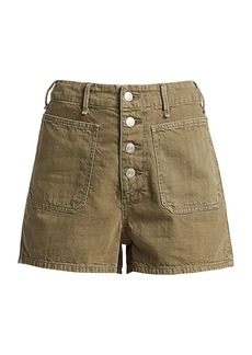 rag & bone Military High-Rise Shorts