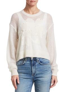 Rag & Bone Milton Pieced Long-Sleeve Sweater