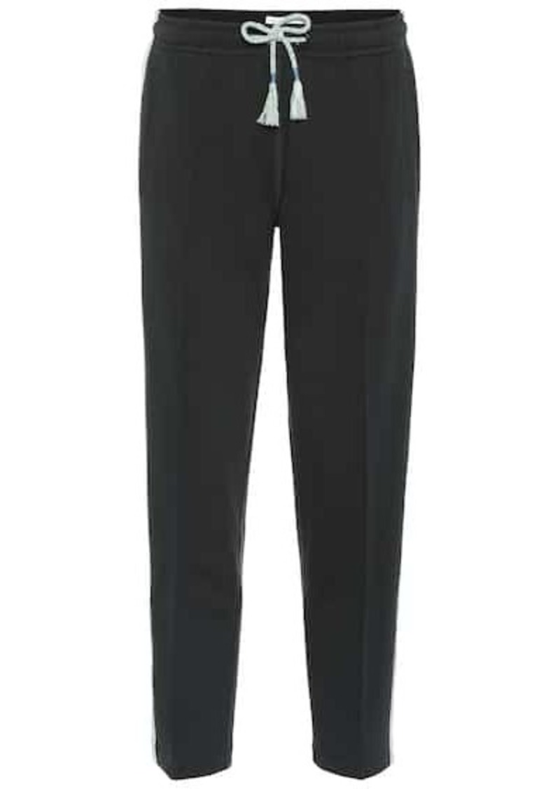 rag & bone Molly cotton jersey trackpants