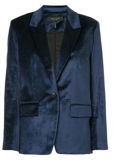 Rag & Bone Monty velvet blazer