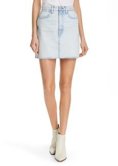 rag & bone Moss Denim Skirt